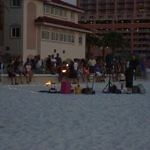 clearwater beach evening entertainment