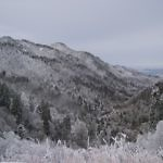 frozen Great smokey mountains