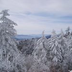 blue ridge parkway in winter - travelammo