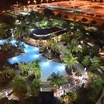 Hilton Orlando Pool Night - Travelammo